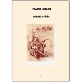 Sonnets 78-84  [Livre numérique]